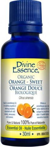 Orange-Sweet - Essential Oil *ORGANIC*
